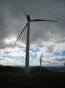 Green Knowes turbines