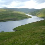 Glendevon Reservoir from Common Hill